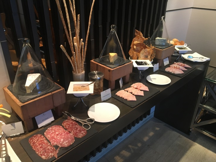 bangkok okura prestige club lounge deli meats