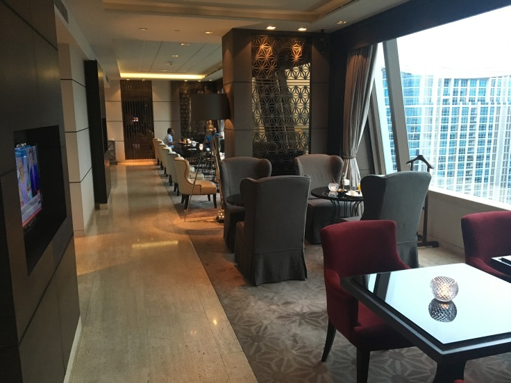 bangkok okura prestige club lounge seating