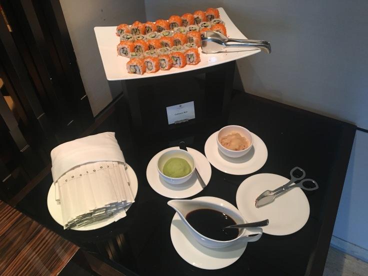 bangkok okura prestige club lounge sushi