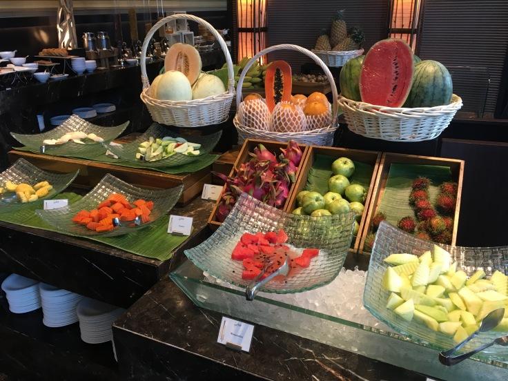 bangkok okura prestige restuarant fruit salad