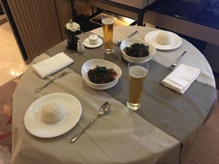 bangkok okura prestige room service dinner