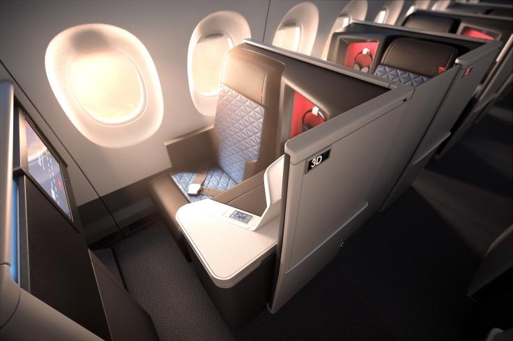 delta new business class a350
