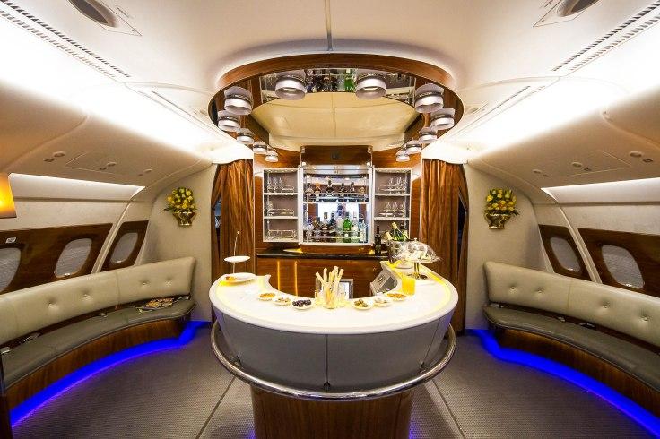 emirates first class new bar