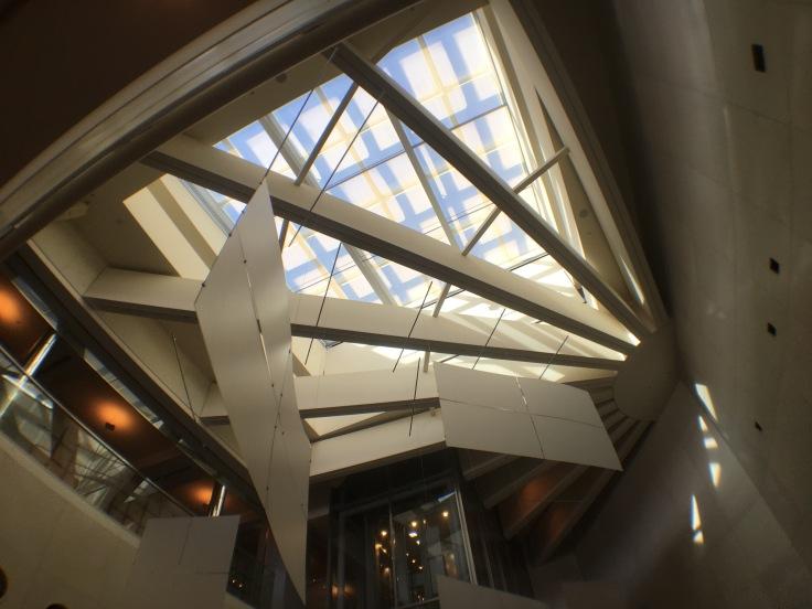 united club tokyo narita atrium skylight