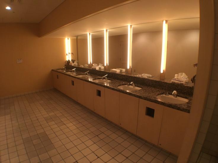 united club tokyo narita bathroom sinks