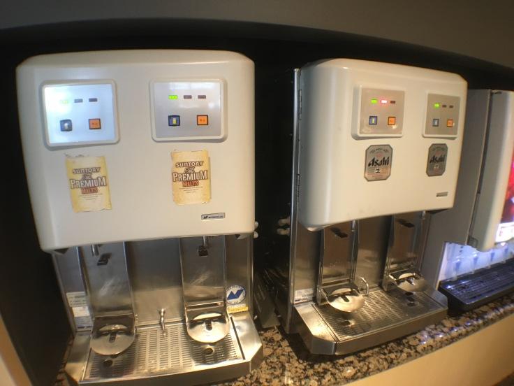 united club tokyo narita beer machine