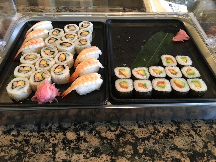 united club tokyo narita japanese sushi 2