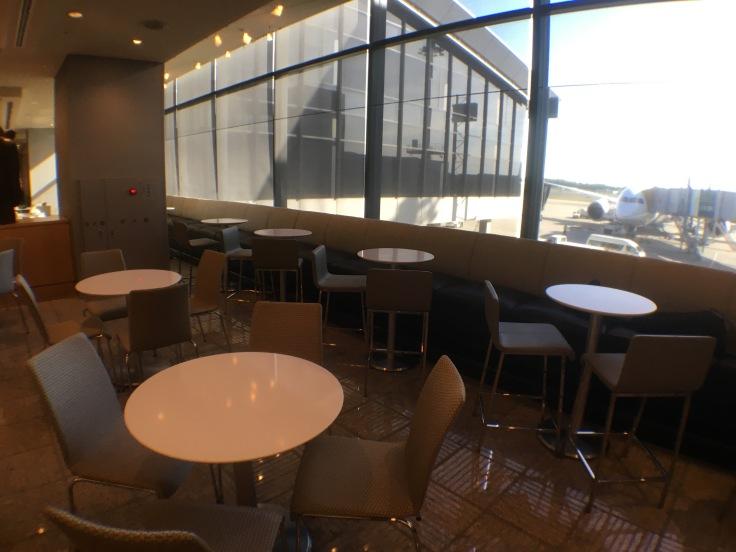 united club tokyo narita seating area