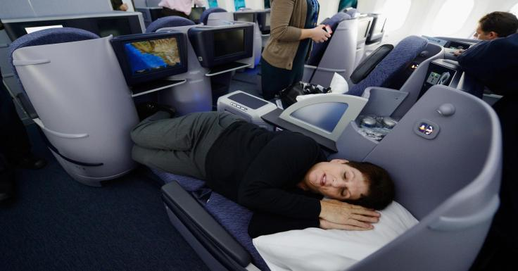 united old business class