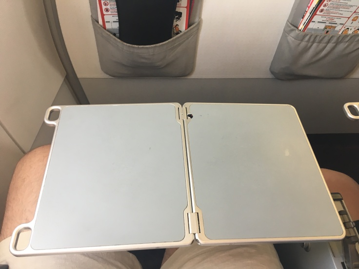 air asia seat tray table