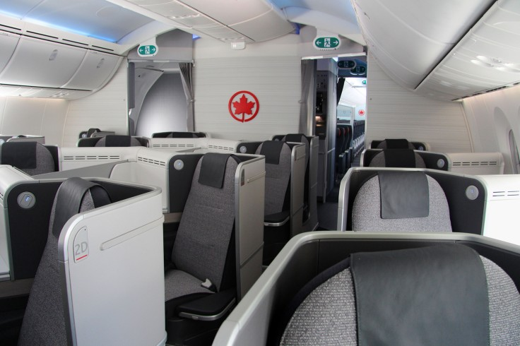 AIR CANADA - Air Canada Debuts New International Cabin Interiors