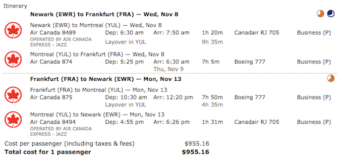 air canada really cheap business class fare.png