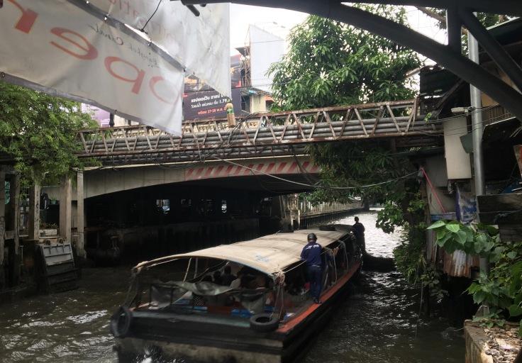 bangkok tour river taxi canal