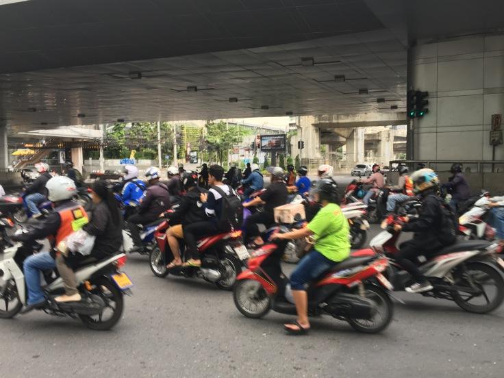 bangkok tour street bikes