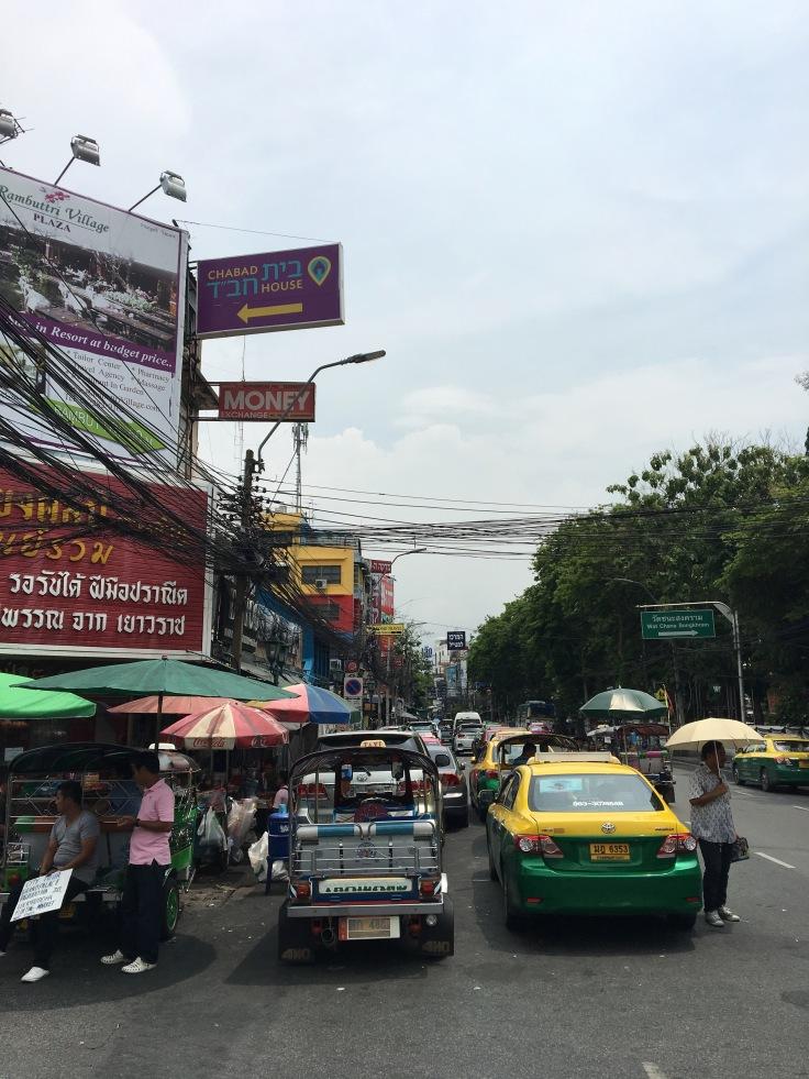 bangkok tour street chaos