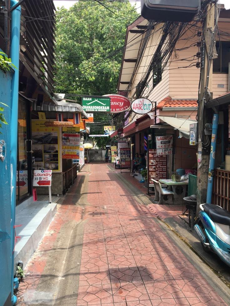 bangkok tour street market