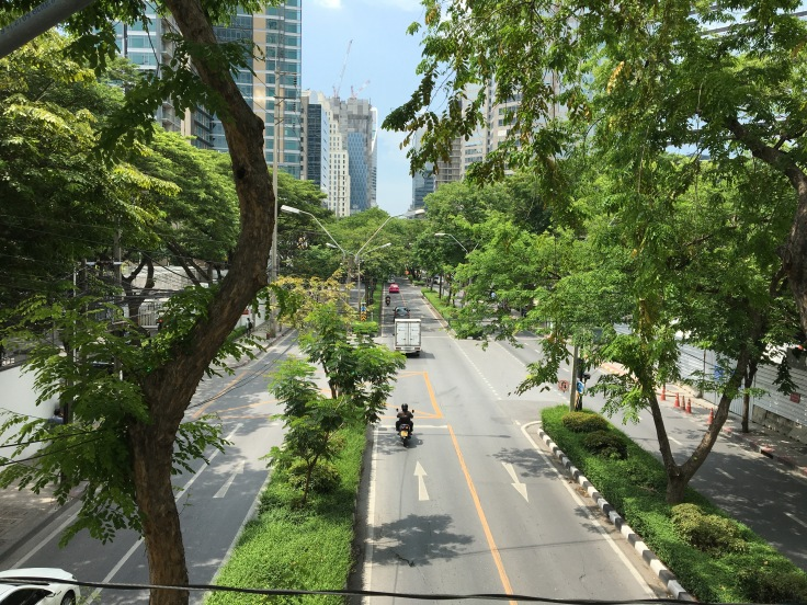 bangkok tour street overpass