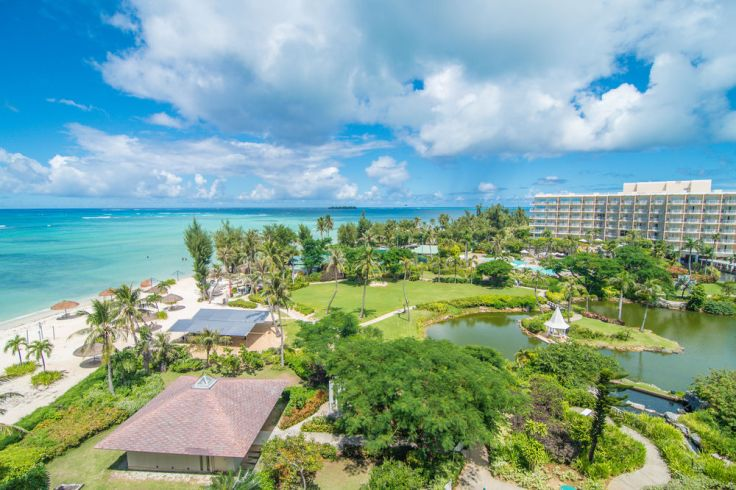hyatt regency saipan grounds