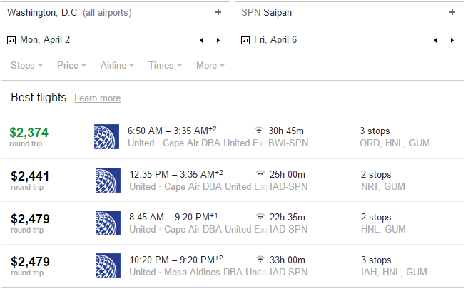 saipan airfare google flights.PNG