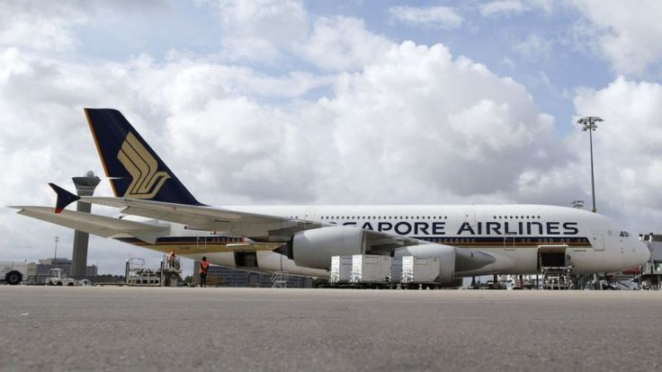 singapore airlines a380 retired