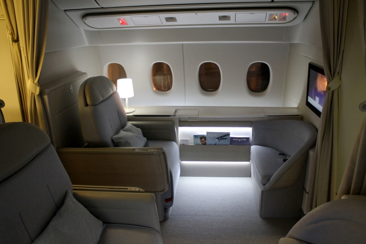 air france new first class