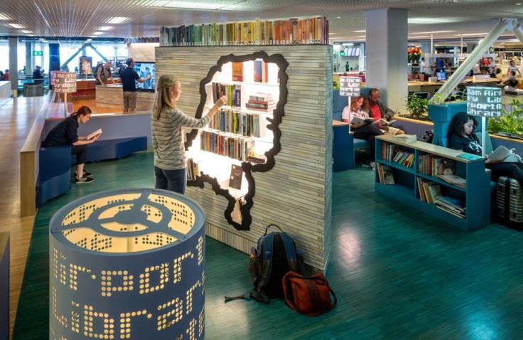 klm schiphol library