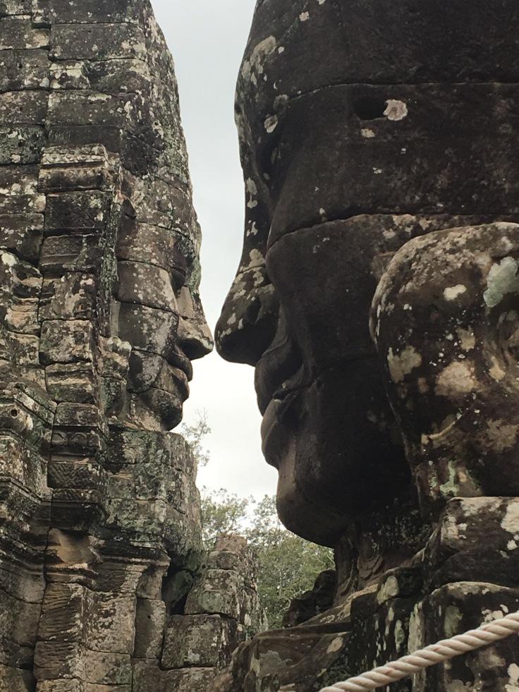 siem reap angkor wat bayon temple eskimo kisses
