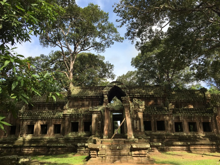 siem reap angkor wat rear temple