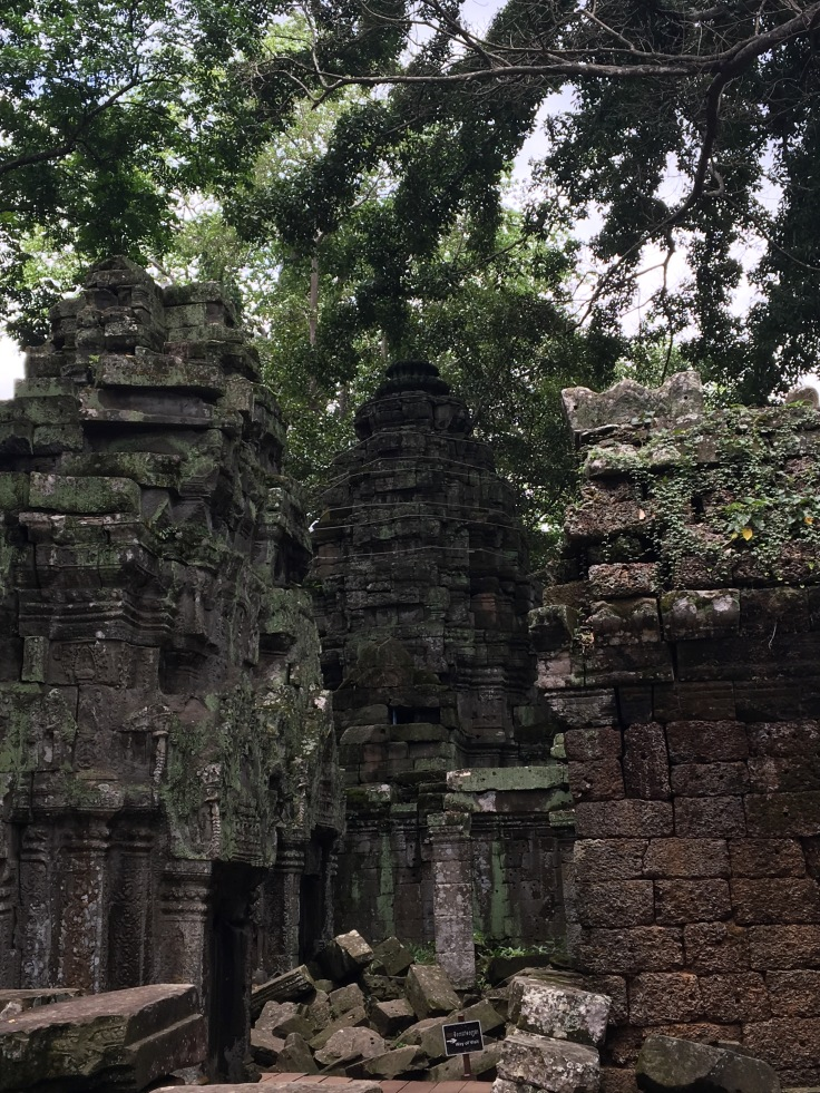 siem reap angkor wat ta prohm ruined stupa