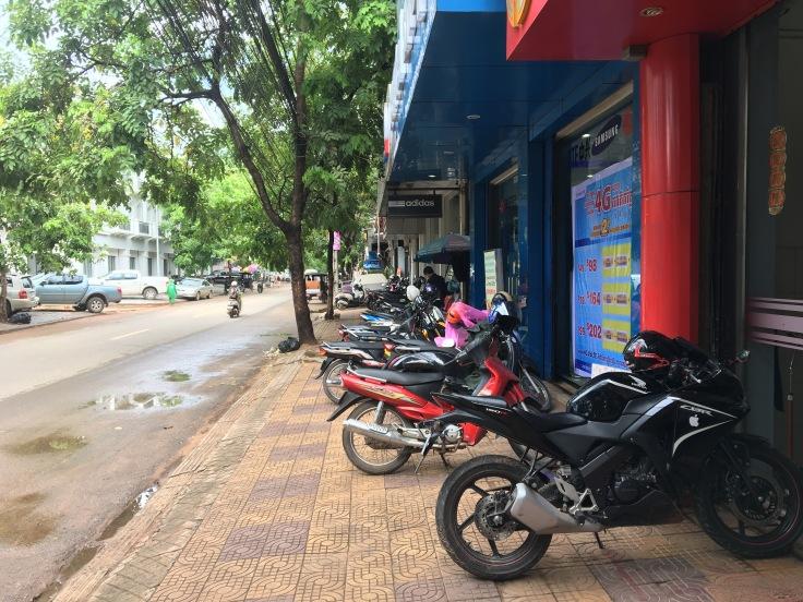 siem reap town motorcycles