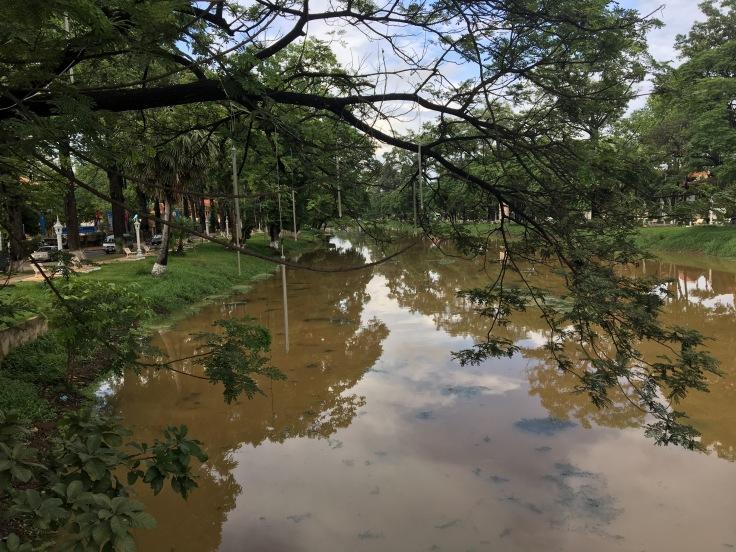 siem reap town river