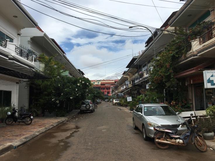 siem reap town sleepy street