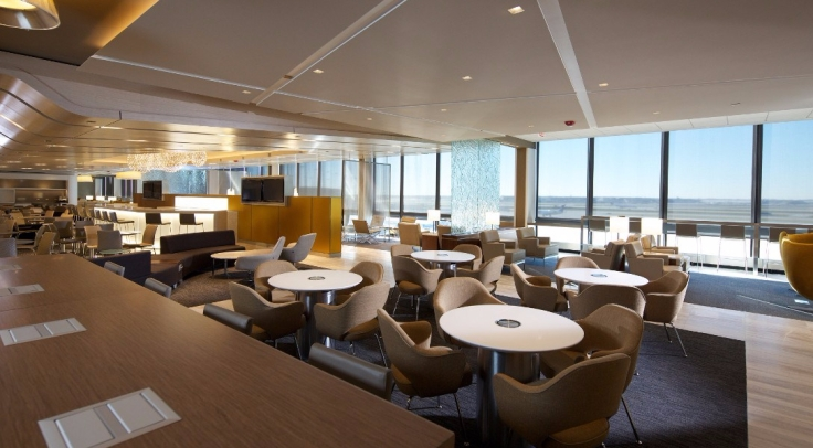 united club lounge ord