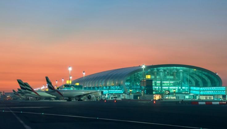 emirates dubai airport exterior