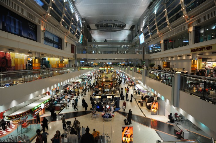 Inside of the Dubai International Airport. Image shot 01/2009. Exact date unknown.