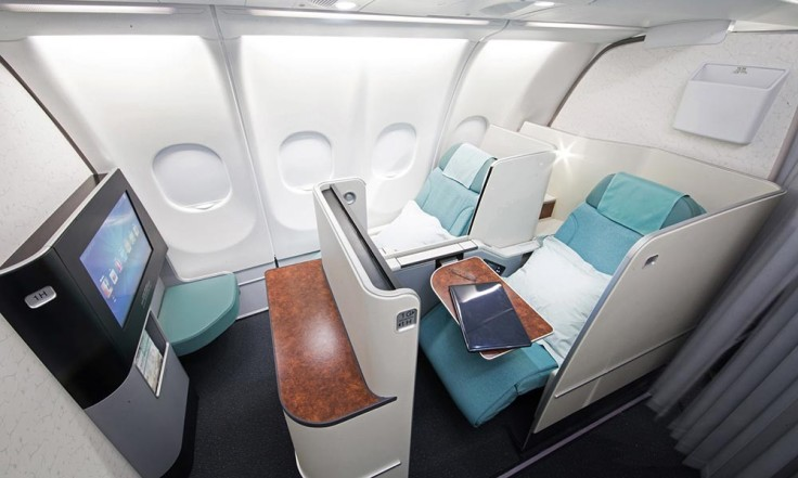 korean air new business class promo