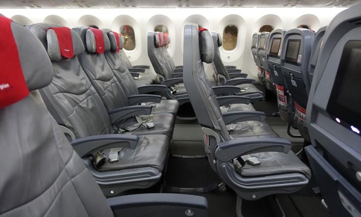 norwegian air economy class seating