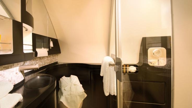 etihad first class a380 shower
