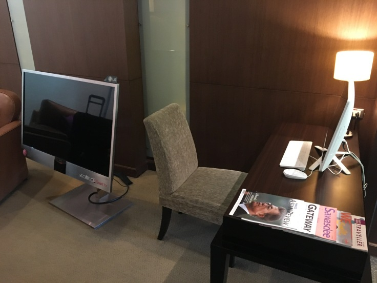 thai royal first lounge living room technology
