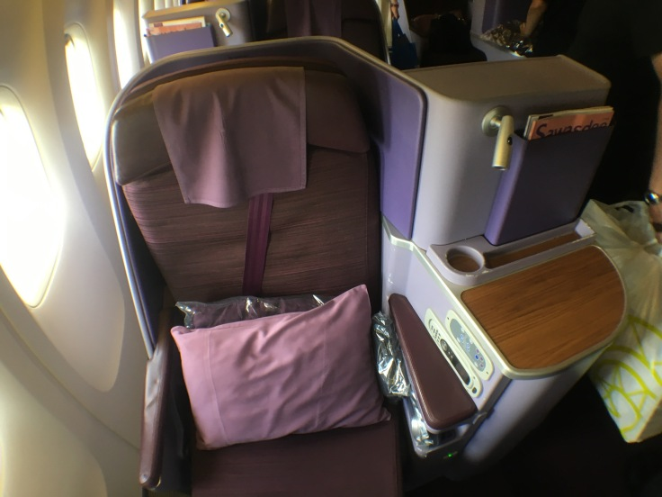 thai royal silk cabin personal seat