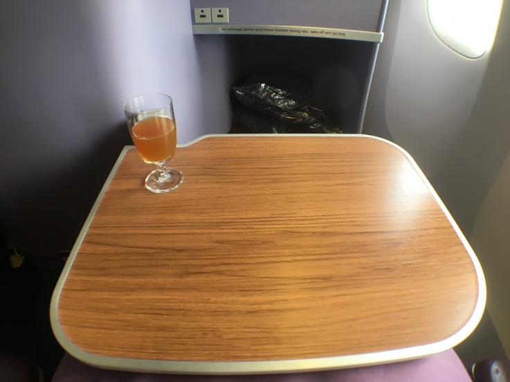 thai royal silk cabin tray table