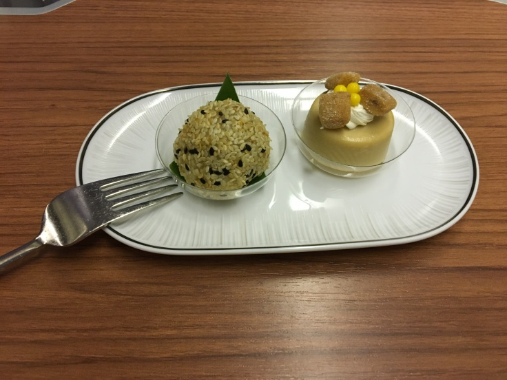 thai royal silk service dessert
