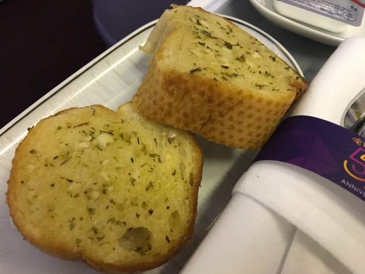 thai royal silk service garlic bread