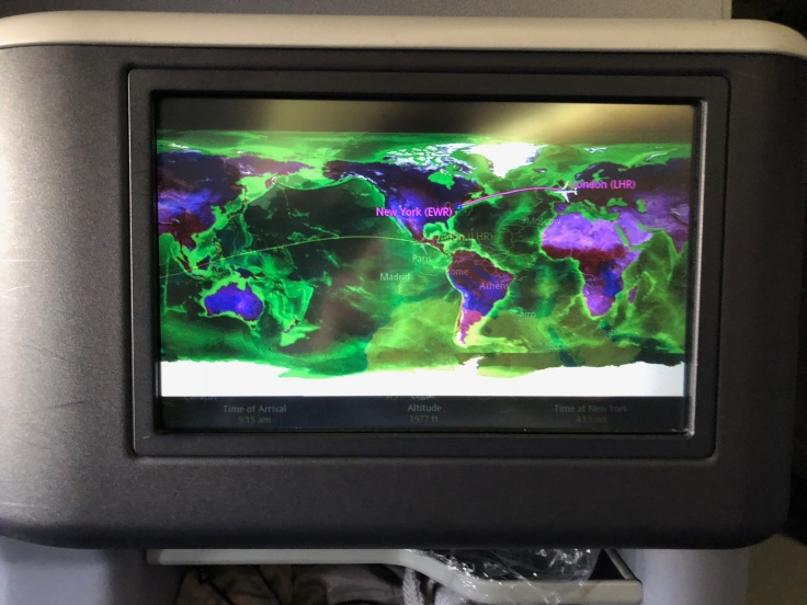 united airlines polaris business diamond entertainment moving map broken