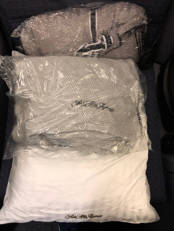 united airlines polaris business diamond soft bedding