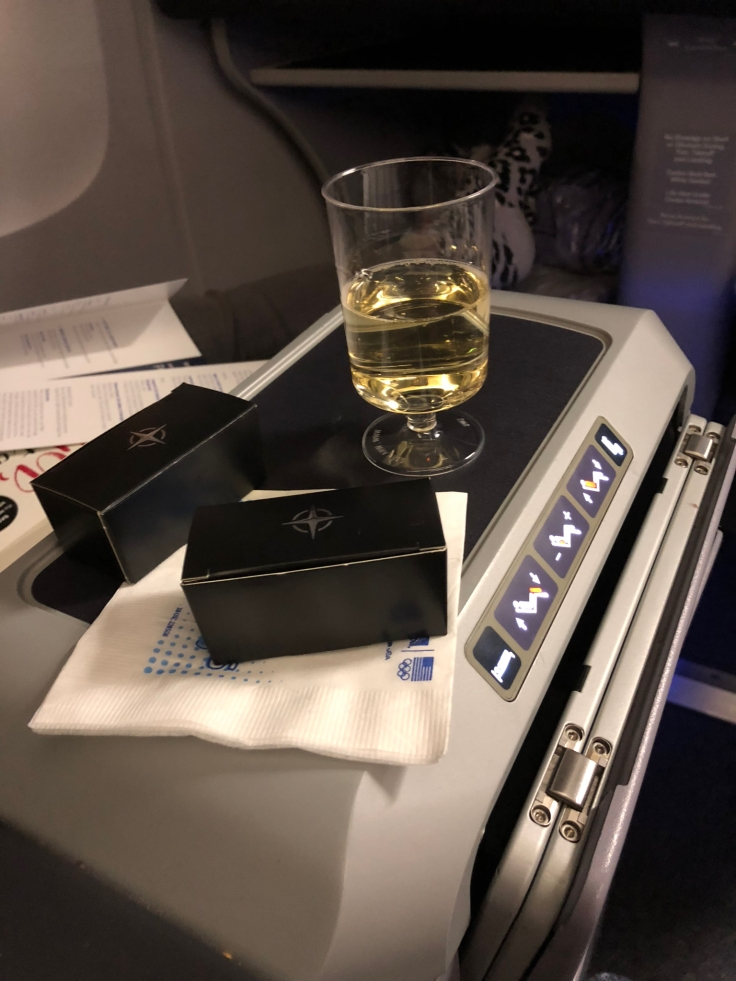 united airlines polaris business diamond soft predeparture service