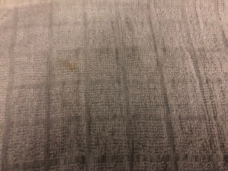 united airlines polaris business diamond soft towel service dirty