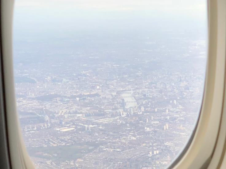 united airlines polaris business diamond view london 1