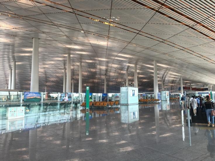 united polaris first beijing airport