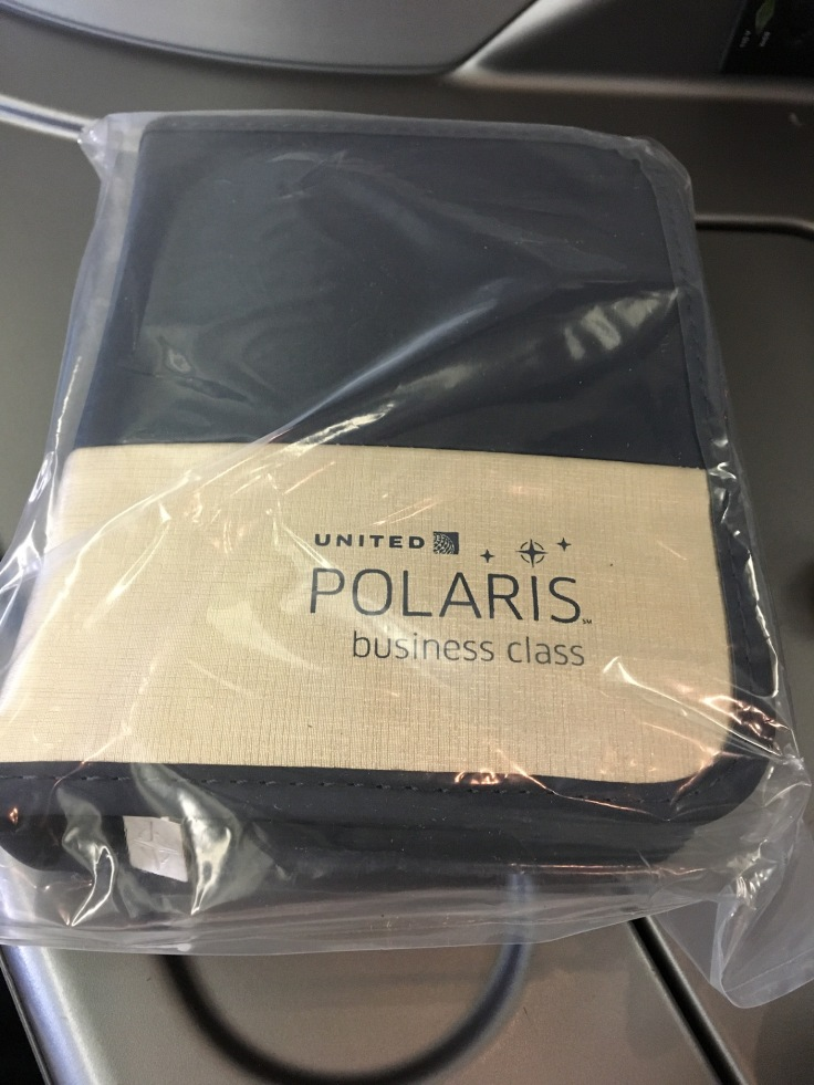 united polaris first soft amenity kit